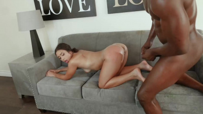 Art student Lilly Hall cums several times from bbc