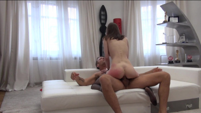 Sexy Mary anal audition with porn legend Rocco Siffredi