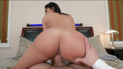 Thick milf Anissa Kate getting her ass stretched by horny stepson