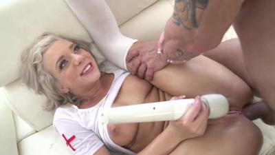Foxy nurse Tiffany Watson hardcore sodomy