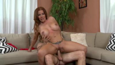 Sexy milf Nicky Ferrari got her pussy banged relentlessly
