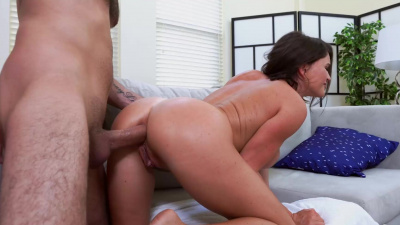 Krissy Lynn ass fucked from multiple positions until he cums