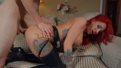 British gal Alexxa Vice accepts big hard dick as a payment