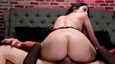 PAWG Alex Coal presents an irresistible temptation for any guy