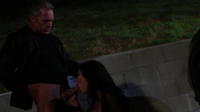 Charming asian Asa Akira public sex
