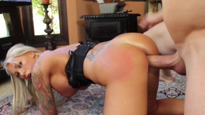 Lolly Ink shows off her dick sucking and fucking abilities to her boss
