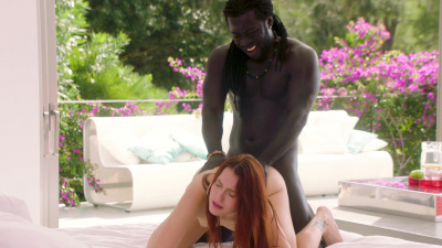 Charlie Red takes biggest blackest cock she ever seen