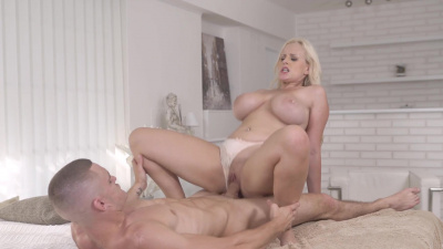 Angel Wicky seduces young lad into sex