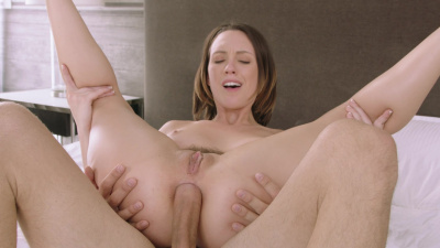 Jade Nile makes anal love with her husband's brother