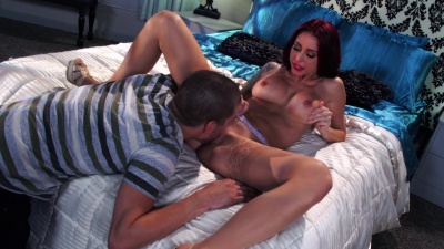 Milf Monique Alexander throat fucked no hands & anal pounded hard